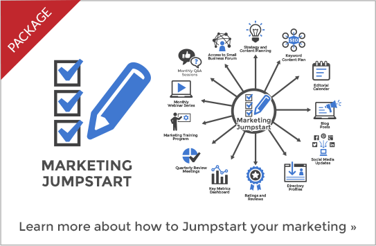 MArketing Jumpstart Package Panel